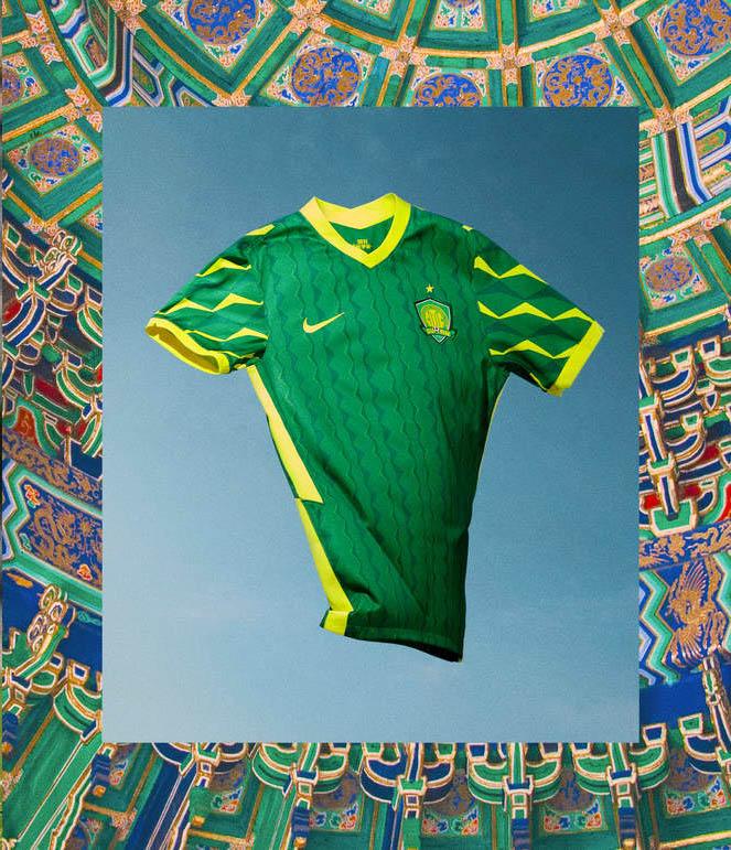 Camisas do Beijing Guoan 2021 Nike