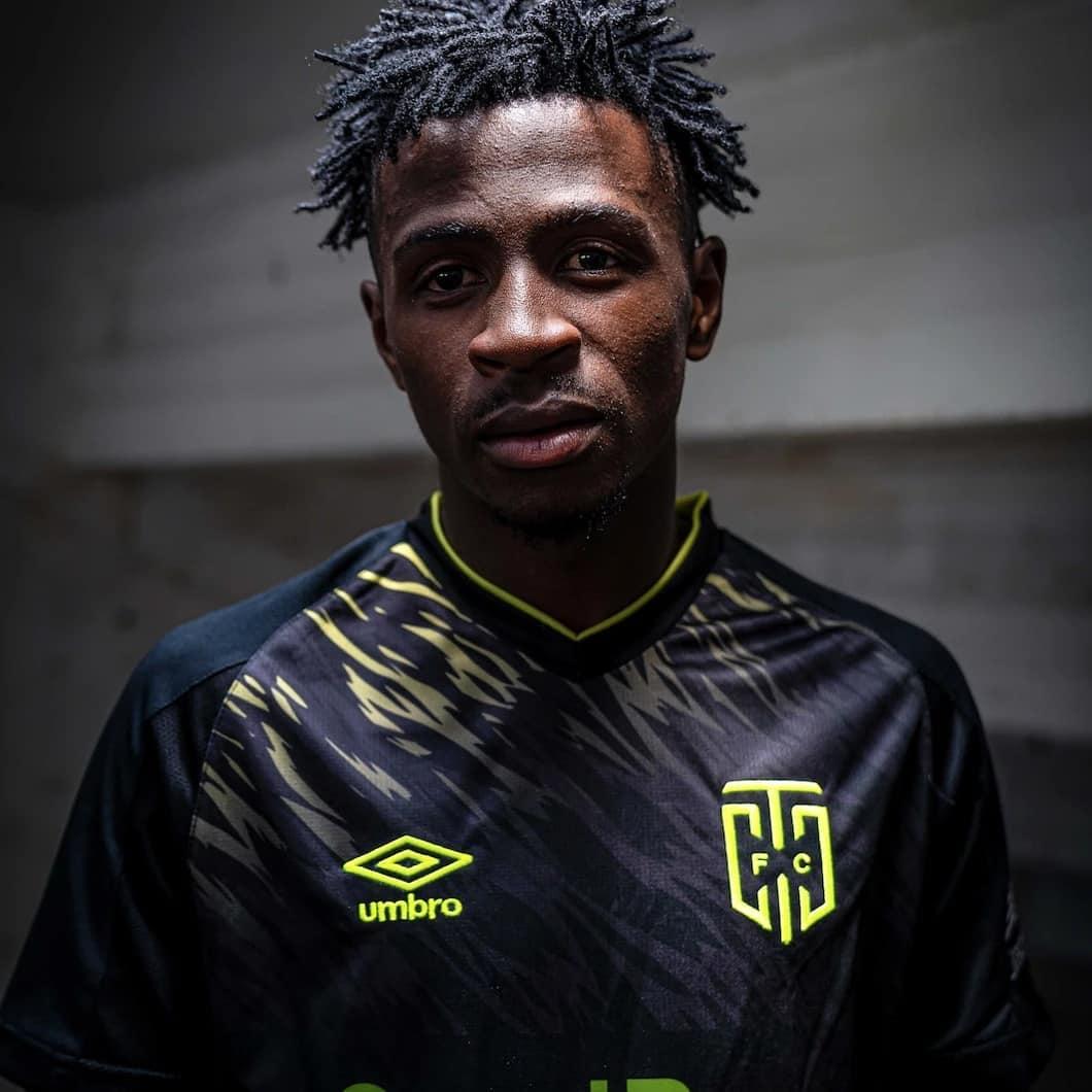 Camisas do Cape Town City FC 2021 Umbro