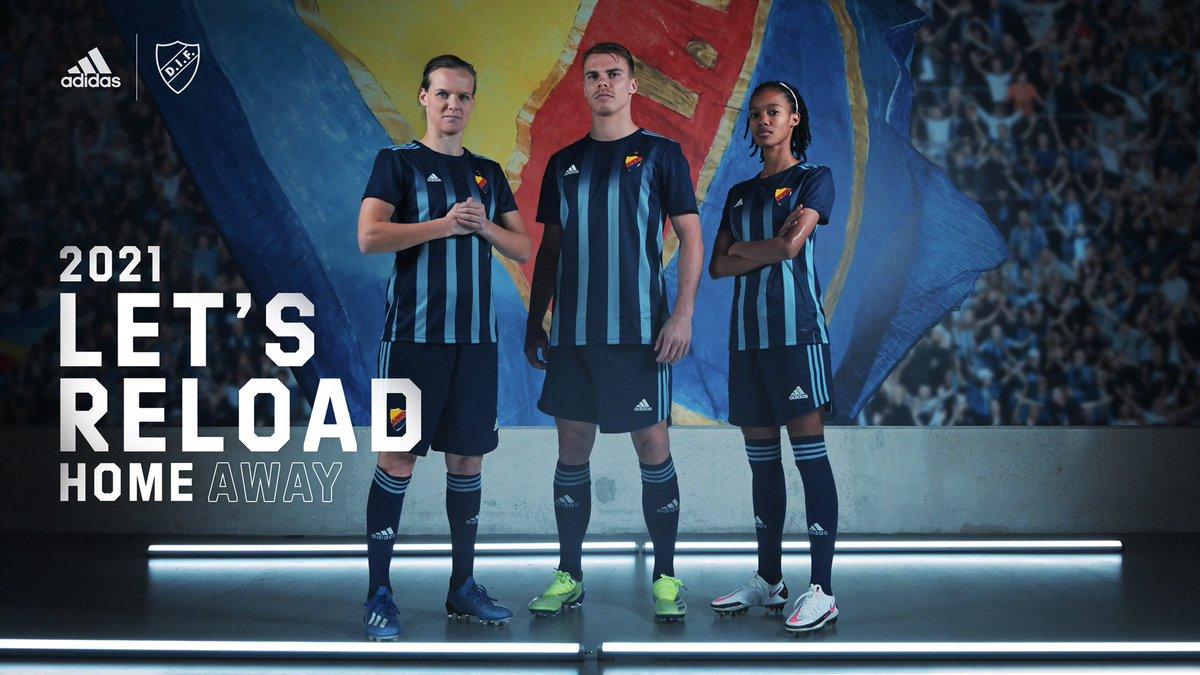 Camisas do Djurgardens IF 2021 Adidas