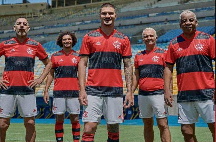 Camisas do Flamengo 2021 Adidas Home a