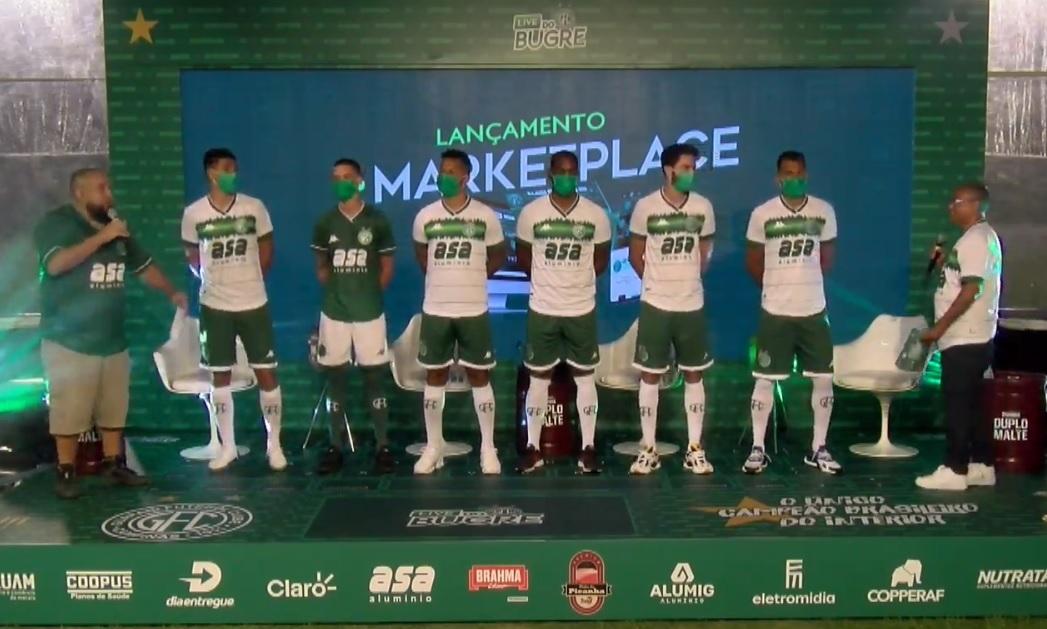 Camisas do Guarani FC 2021 Kappa a