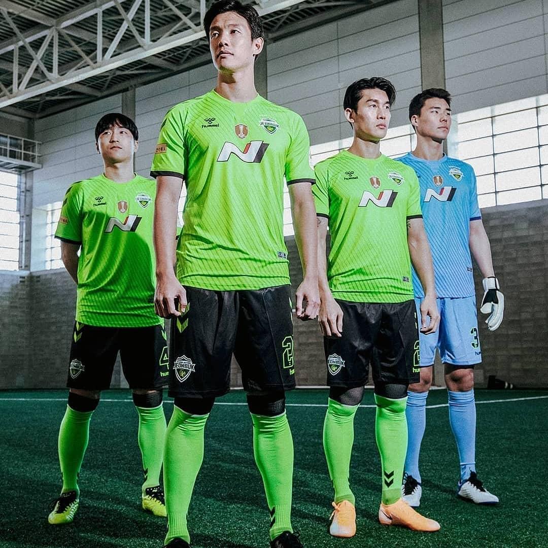 Camisas do Jeonbuk Hyundai 2021 Hummel