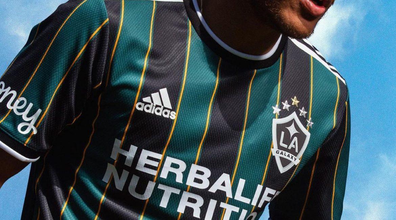 Camisas do LA Galaxy 2021 Adidas Away a