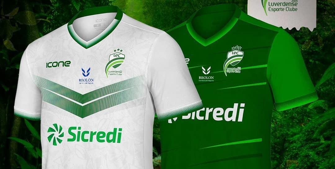 Camisas do Luverdense EC 2021 Ícone Sports