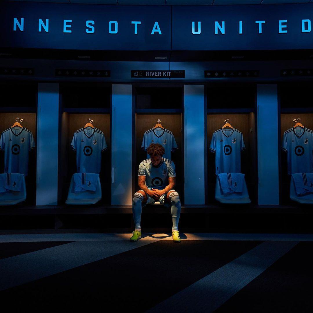 Camisas do Minnesota United 2021 Adidas MLS
