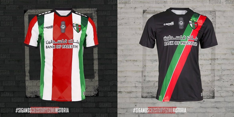 Camisas do Palestino 2021 Capelli Sport