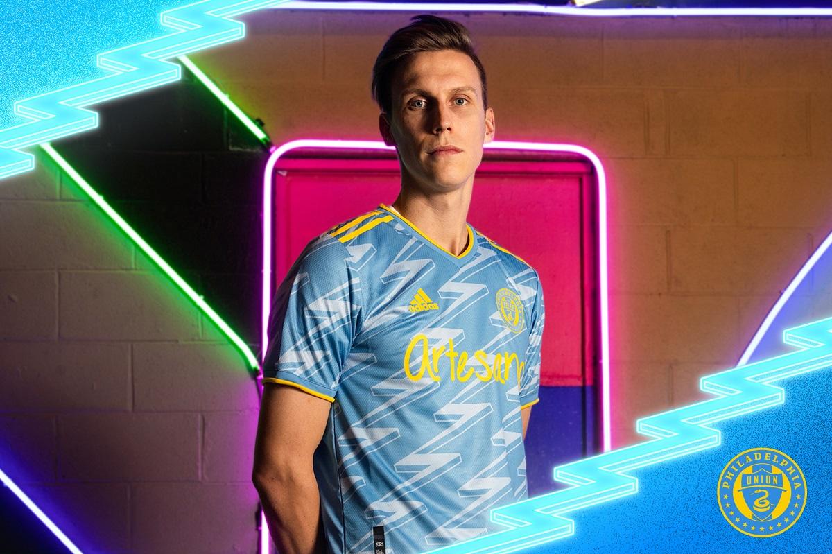 Camisas do Philadelphia Union 2021 Adidas MLS