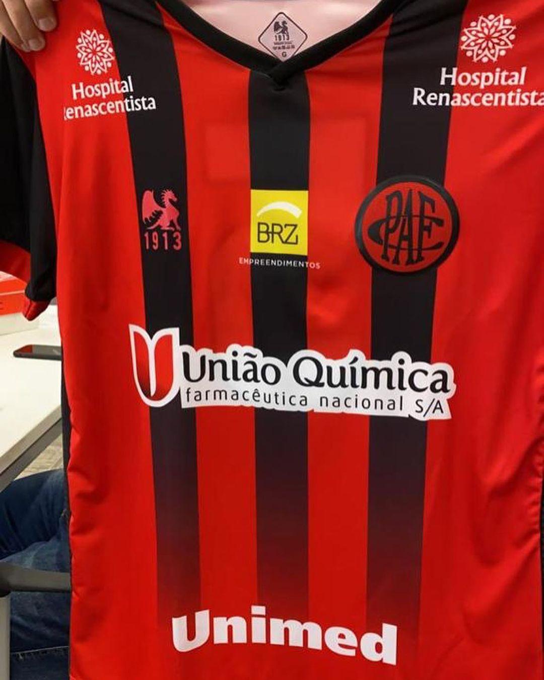 Camisas do Pouso Alegre FC 2021 1913