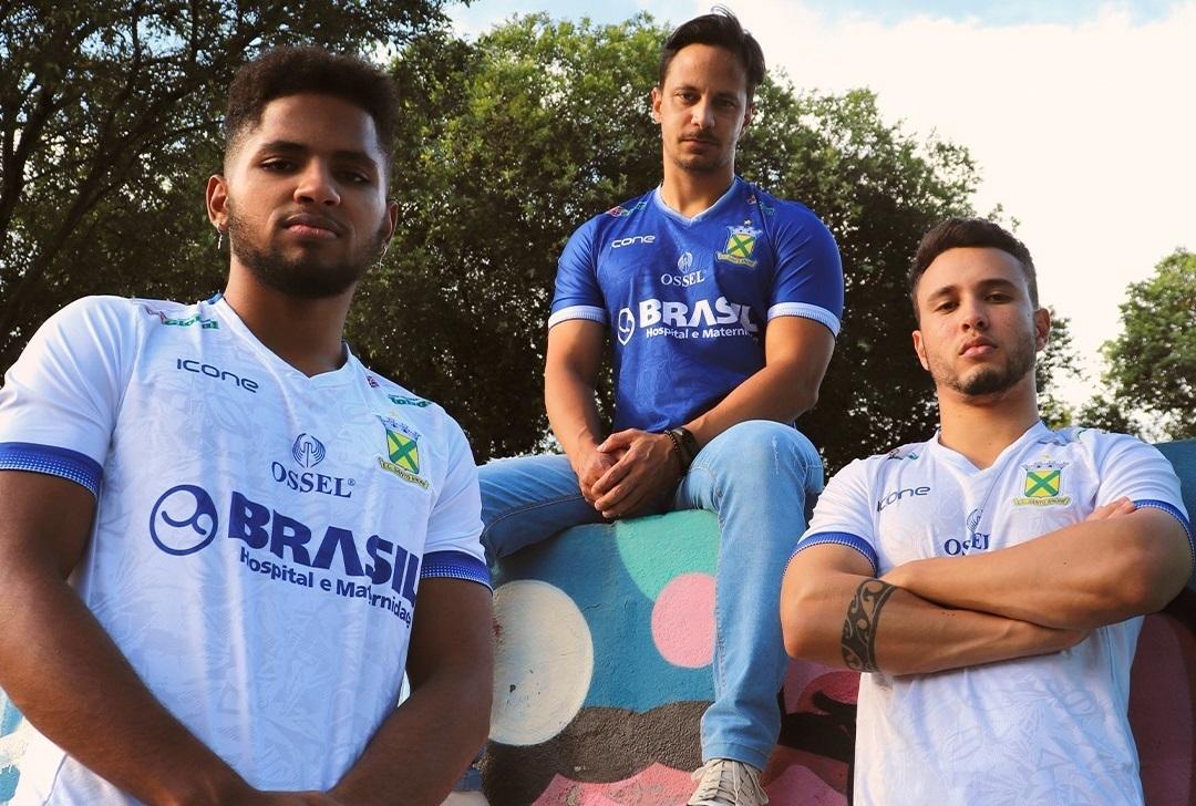 Camisas do Santo André 2021 Ícone Sports