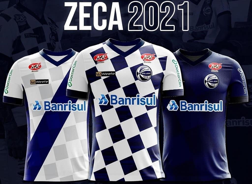 Camisas do São José-RS 2021 Weefe