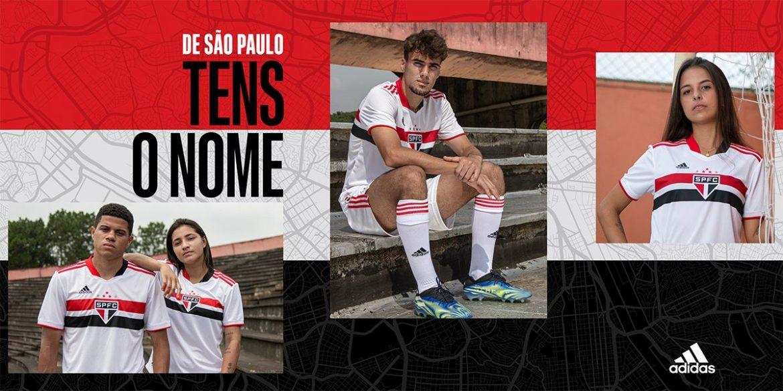 Camisas do São Paulo FC 2021 Adidas a