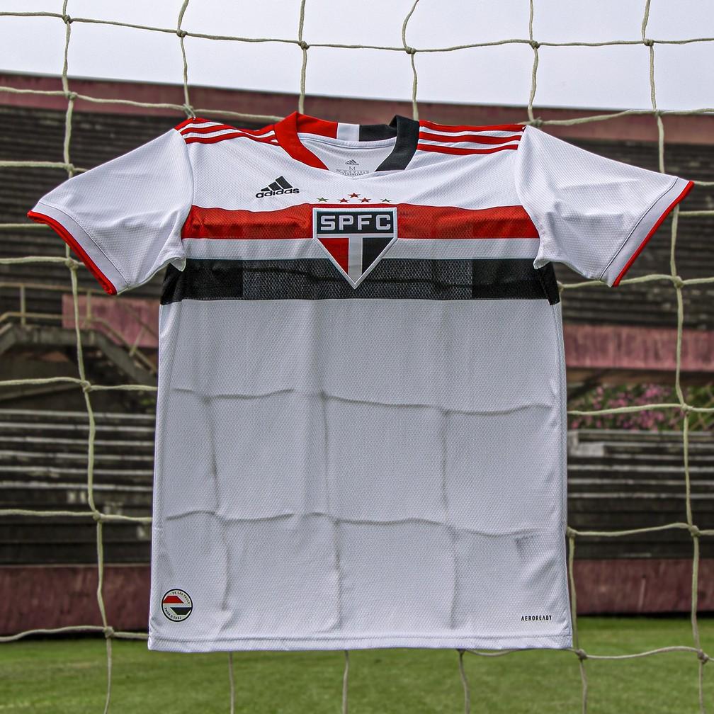 Camisas do São Paulo FC 2021 Adidas