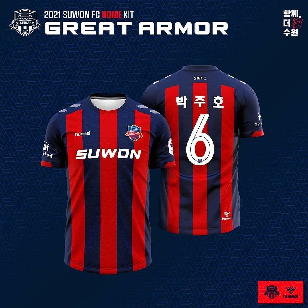 Camisas do Suwon FC 2021 Hummel (3)