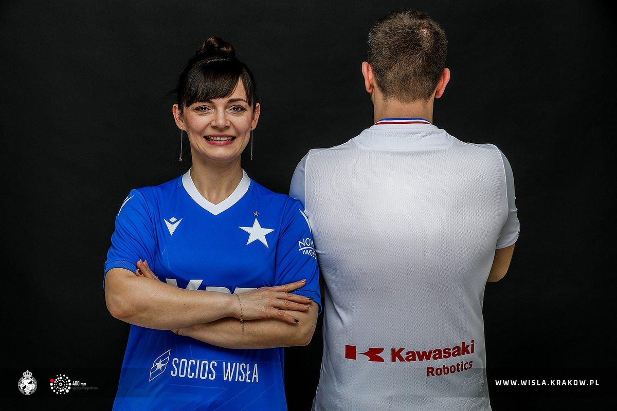Camisas do Wisla Krakow 2021 Macron