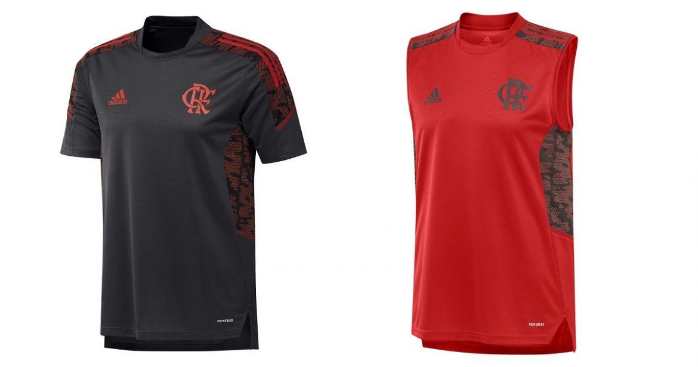 Coleção de treino do Flamengo 2021-2022 Adidas