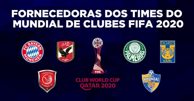 Fornecedoras dos times do Mundial de Clubes FIFA 2020 a