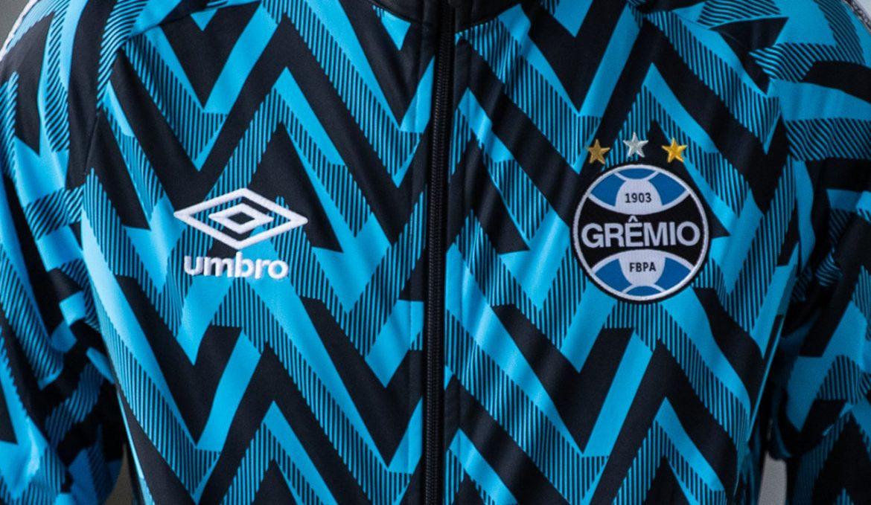 Linha de treino e viagem do Grêmio 2021 Umbro a