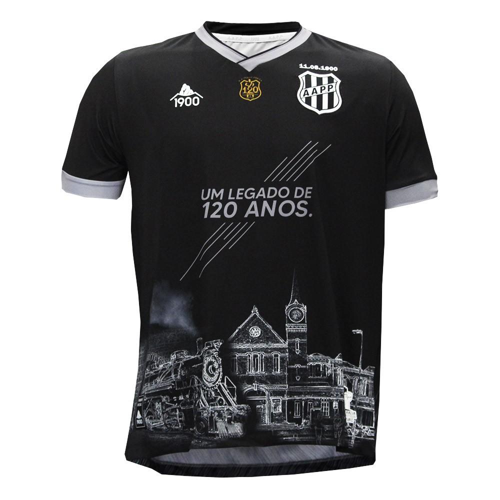 Ponte Preta lança camisas de goleiro após concurso