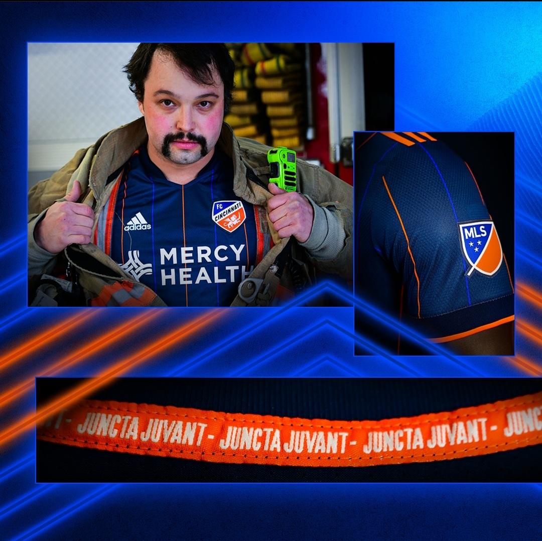 Camisas do FC Cincinnati 2021 Adidas MLS