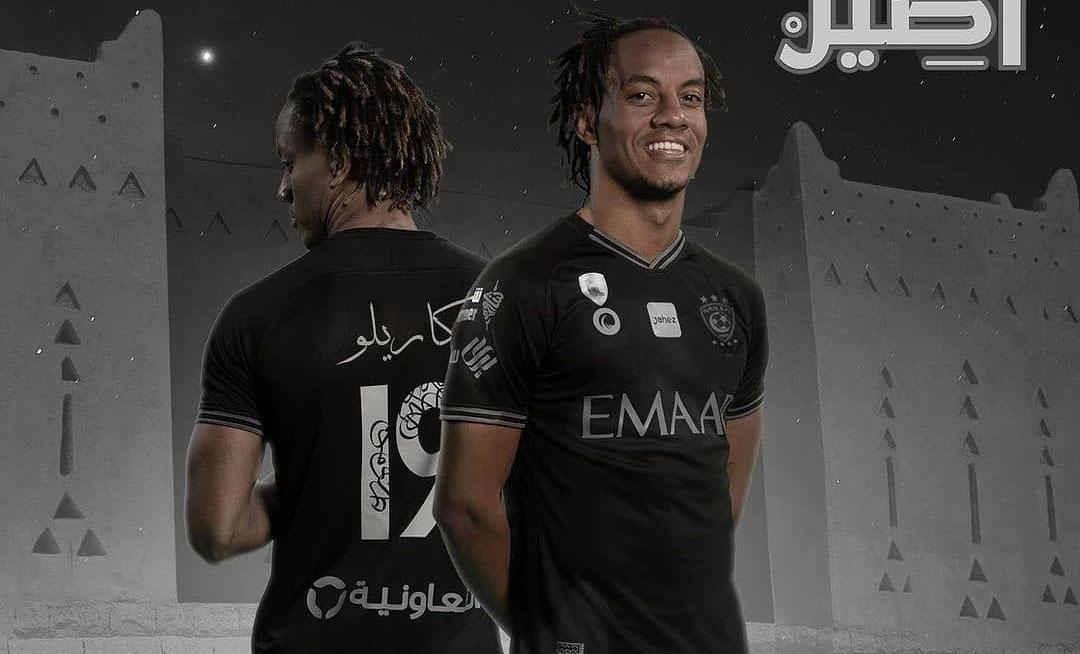 Terceira camisa do Al Hilal 2021 Mouj