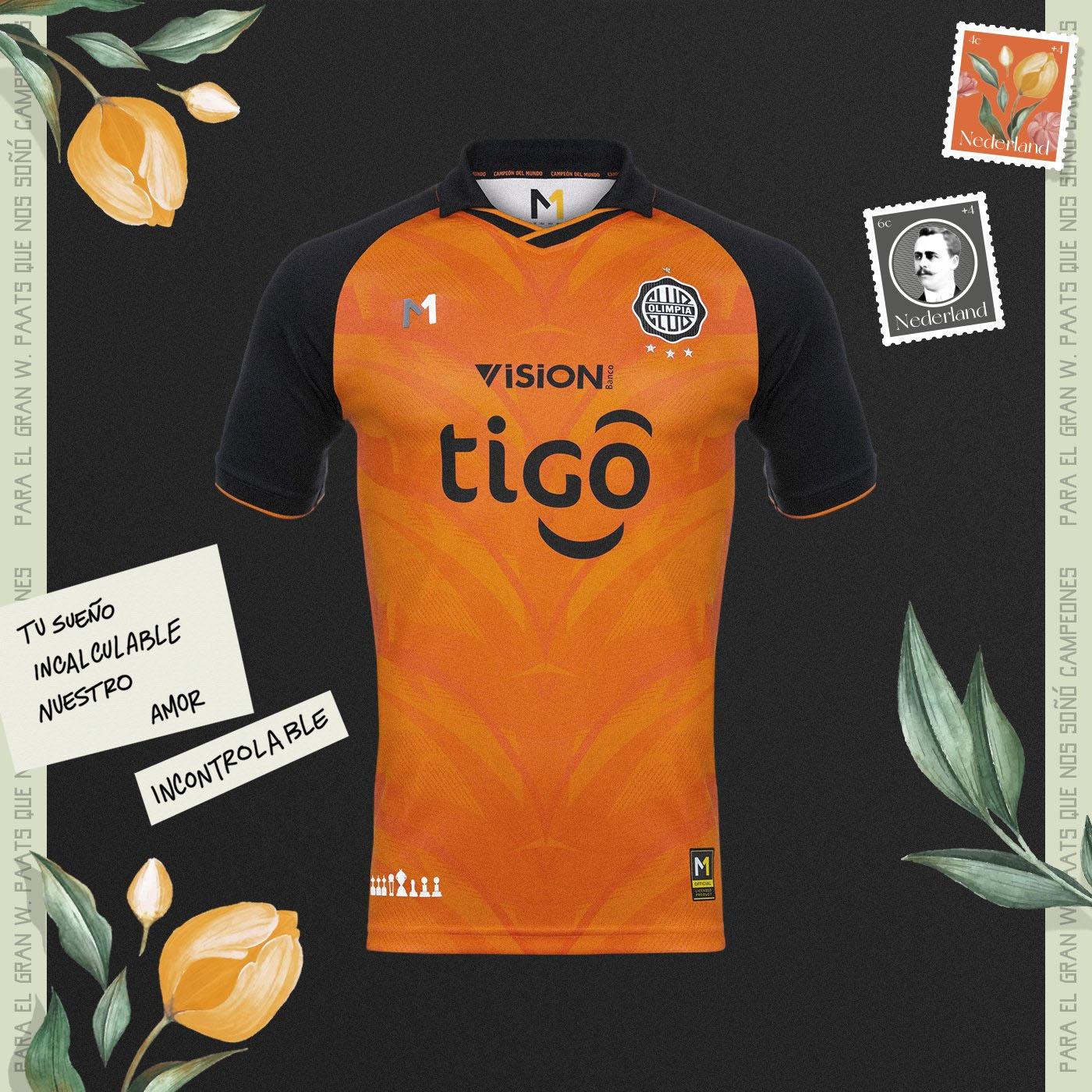 Terceira camisa do Club Olimpia 2021 Meta Sports