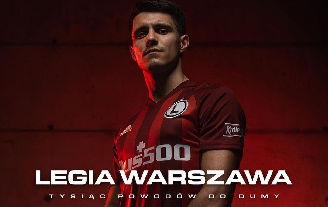 Terceira camisa do Legia Varsóvia 2021 Adidas