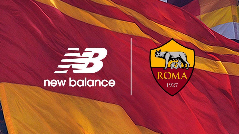 as roma anuncia new balance como nova fornecedora