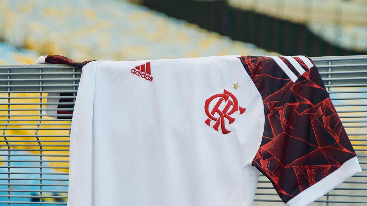 Camisa reserva do Flamengo 2021-2022 Adidas a