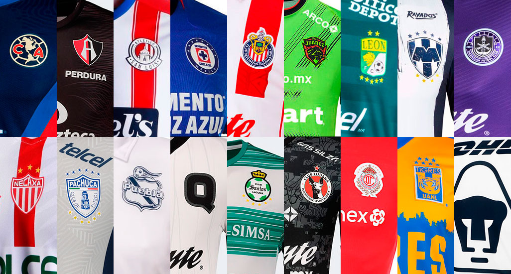 ligaMX clubes