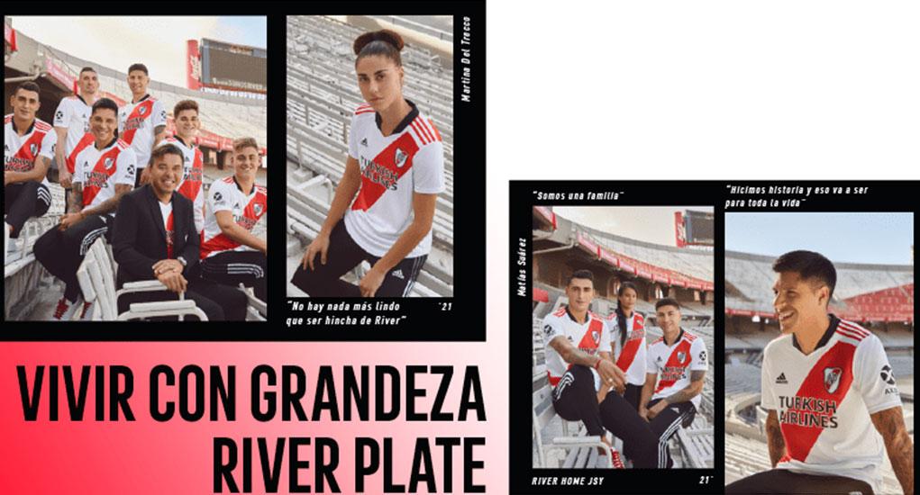Camisas do River Plate 2021-2022 Adidas