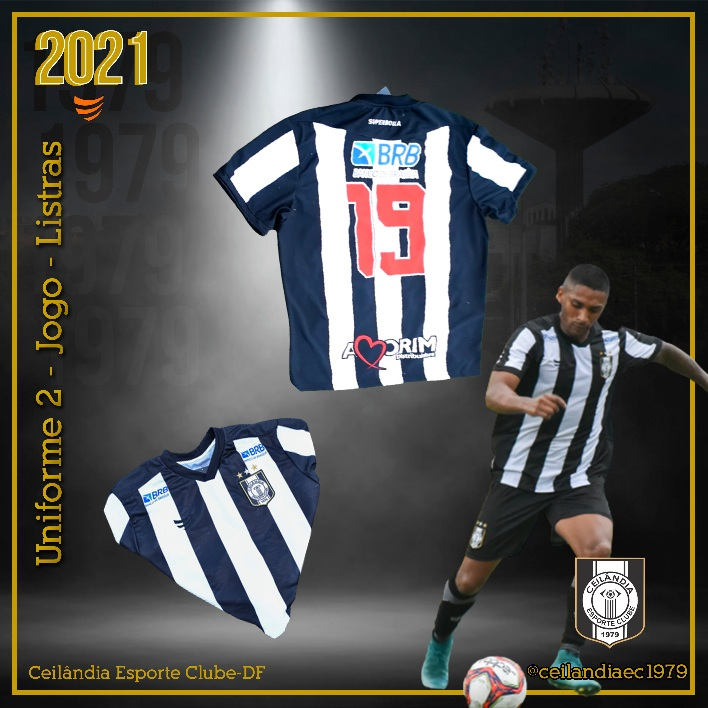Camisas do Ceilândia EC 2021 Super Bolla