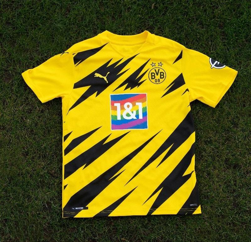 Borussia Dortmund jogará com arco-íris na camisa pela diversidade