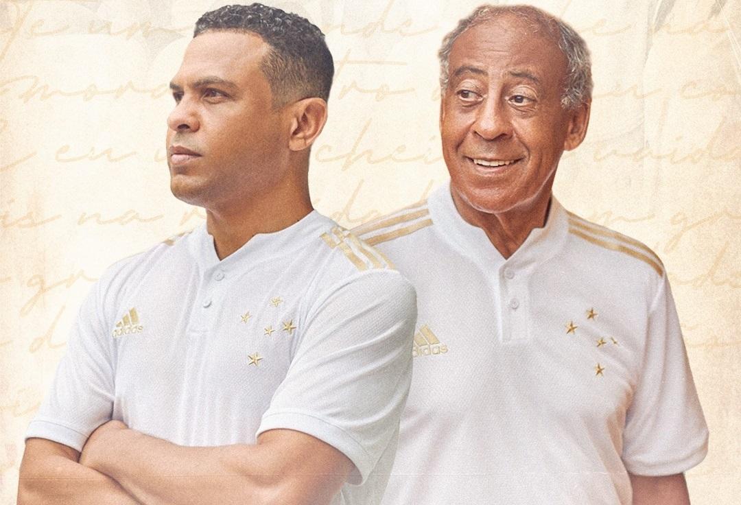 Camisa branca do Cruzeiro 2021-2022 Adidas
