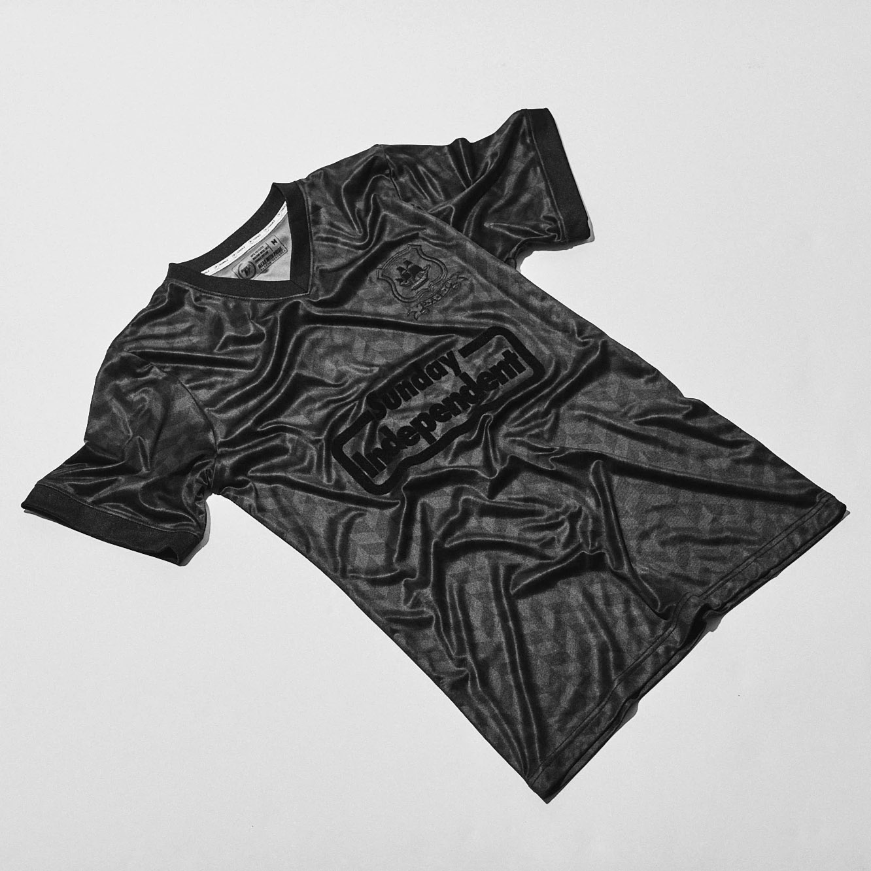 Camisa retrô do Plymouth Argyle 2021 Blackout
