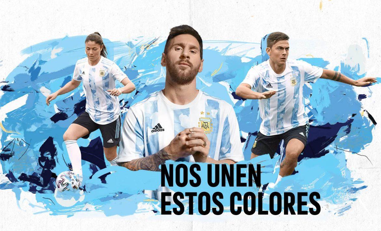 Camisas da Argentina 2021-2022 Adidas a