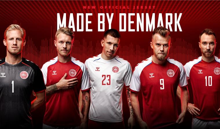 Camisas da Dinamarca 2021 Hummel