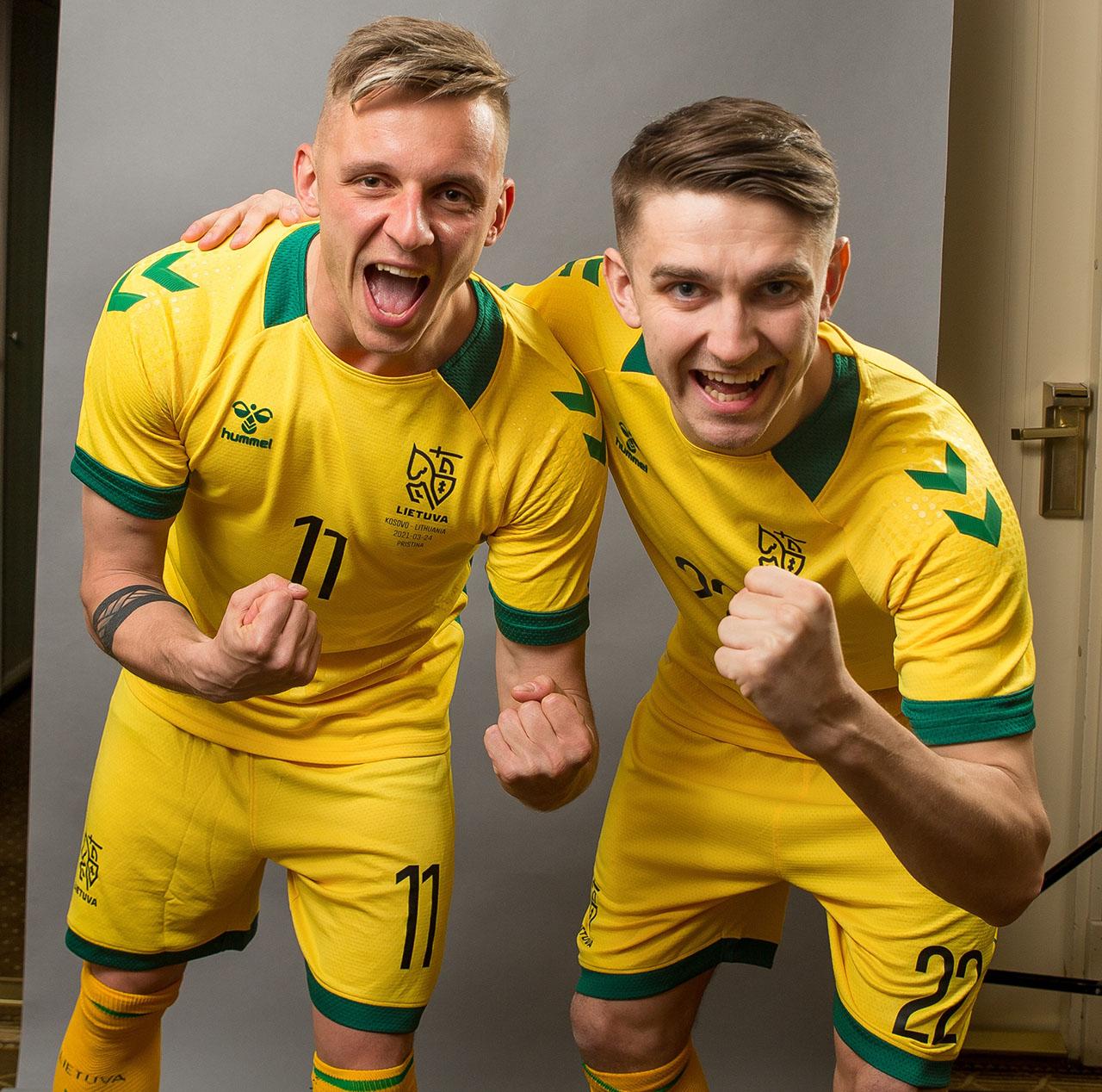 Camisas da Lituânia 2021 Hummel
