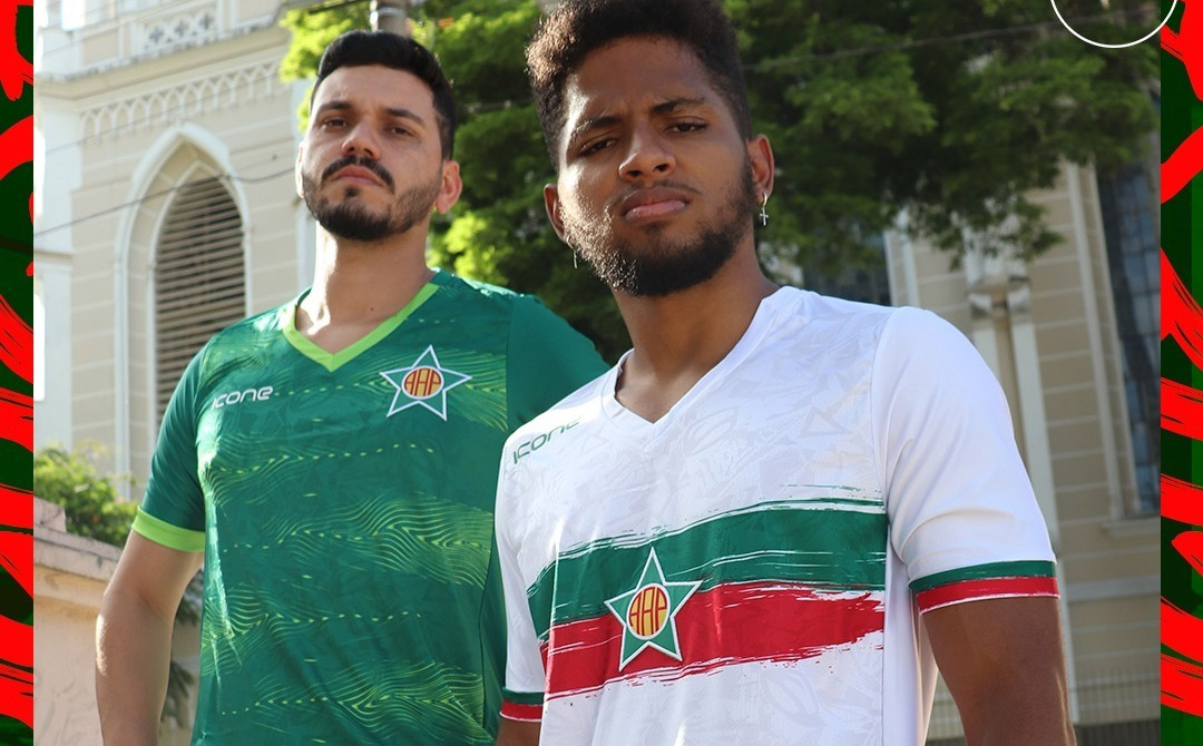 Camisas da Portuguesa do Rio 2021 Ícone Sports a