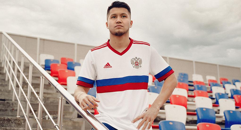 Camisas da Rússia 2021-2022 Adidas