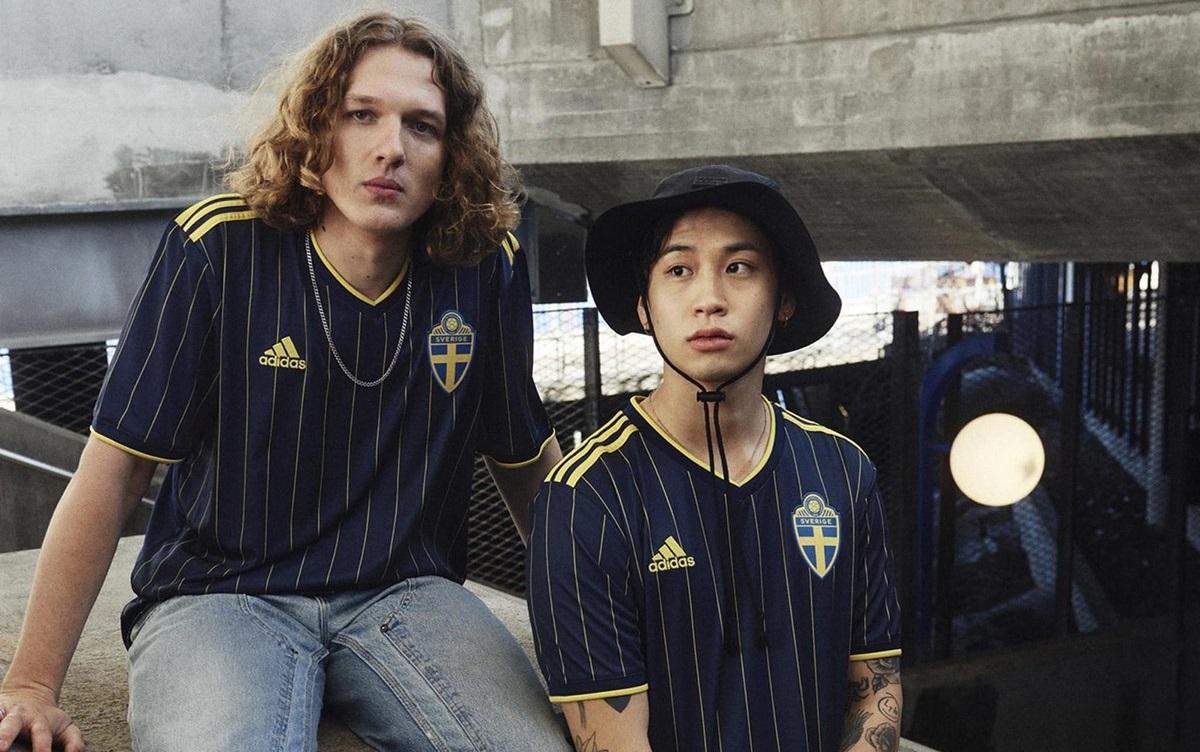 Camisas da Suécia 2021-2022 Adidas