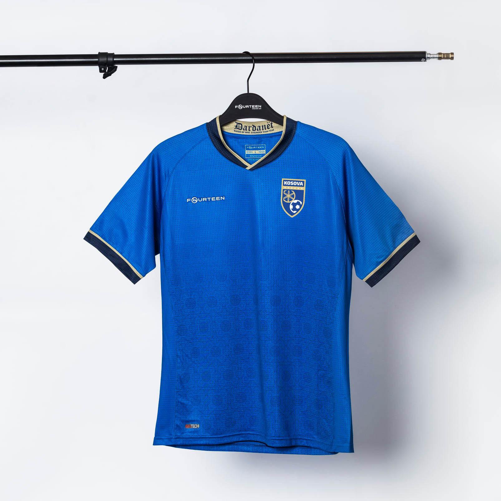 Camisas de Kosovo 2021-2022 14Fourteen Home