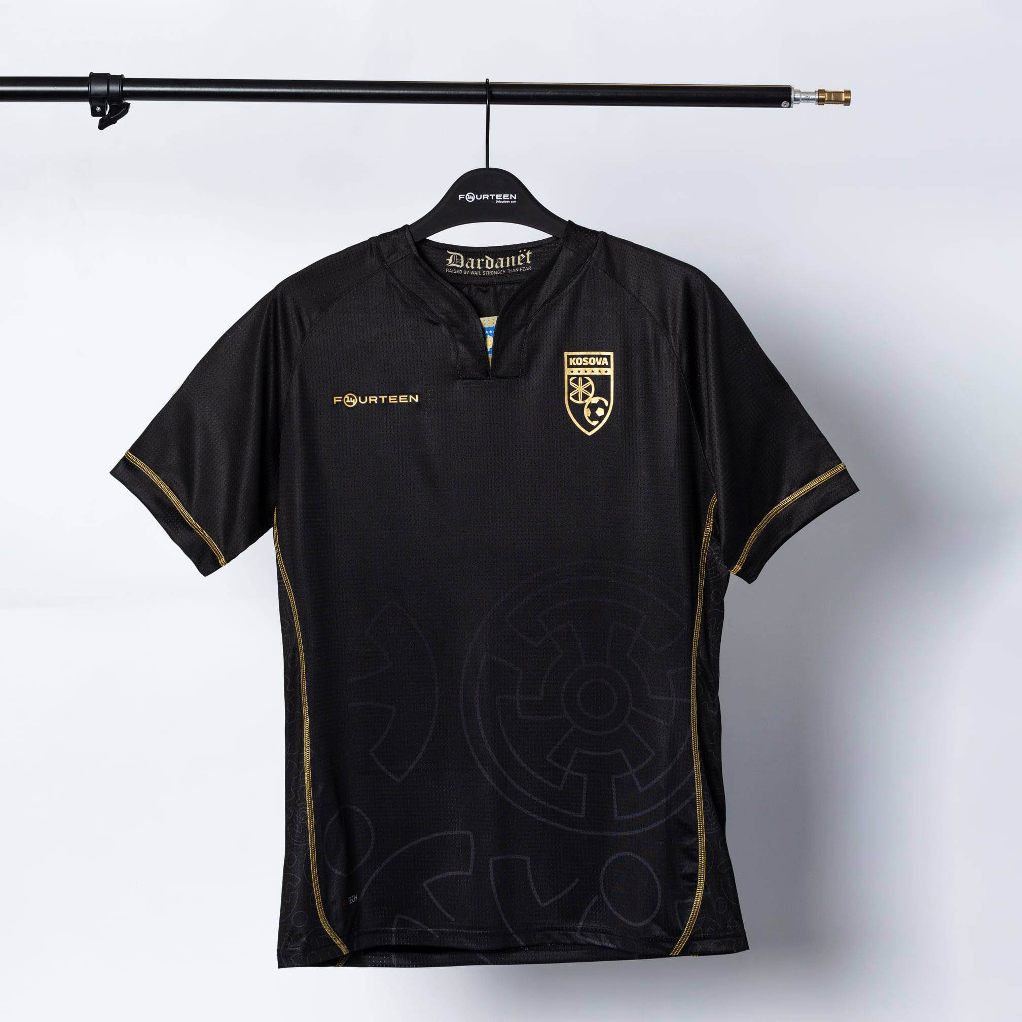 Camisas de Kosovo 2021-2022 14Fourteen Third