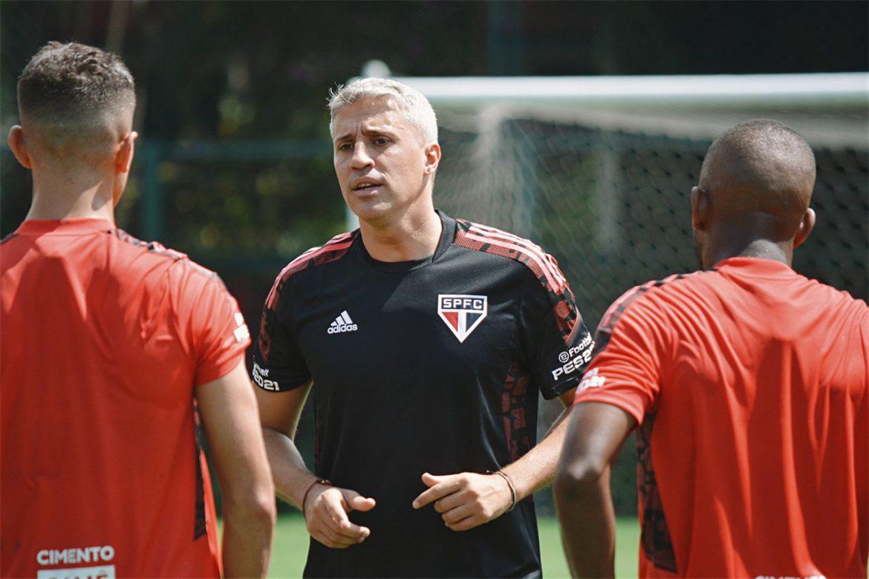 Camisas de treino do São Paulo FC 2021-2022 Adidas a