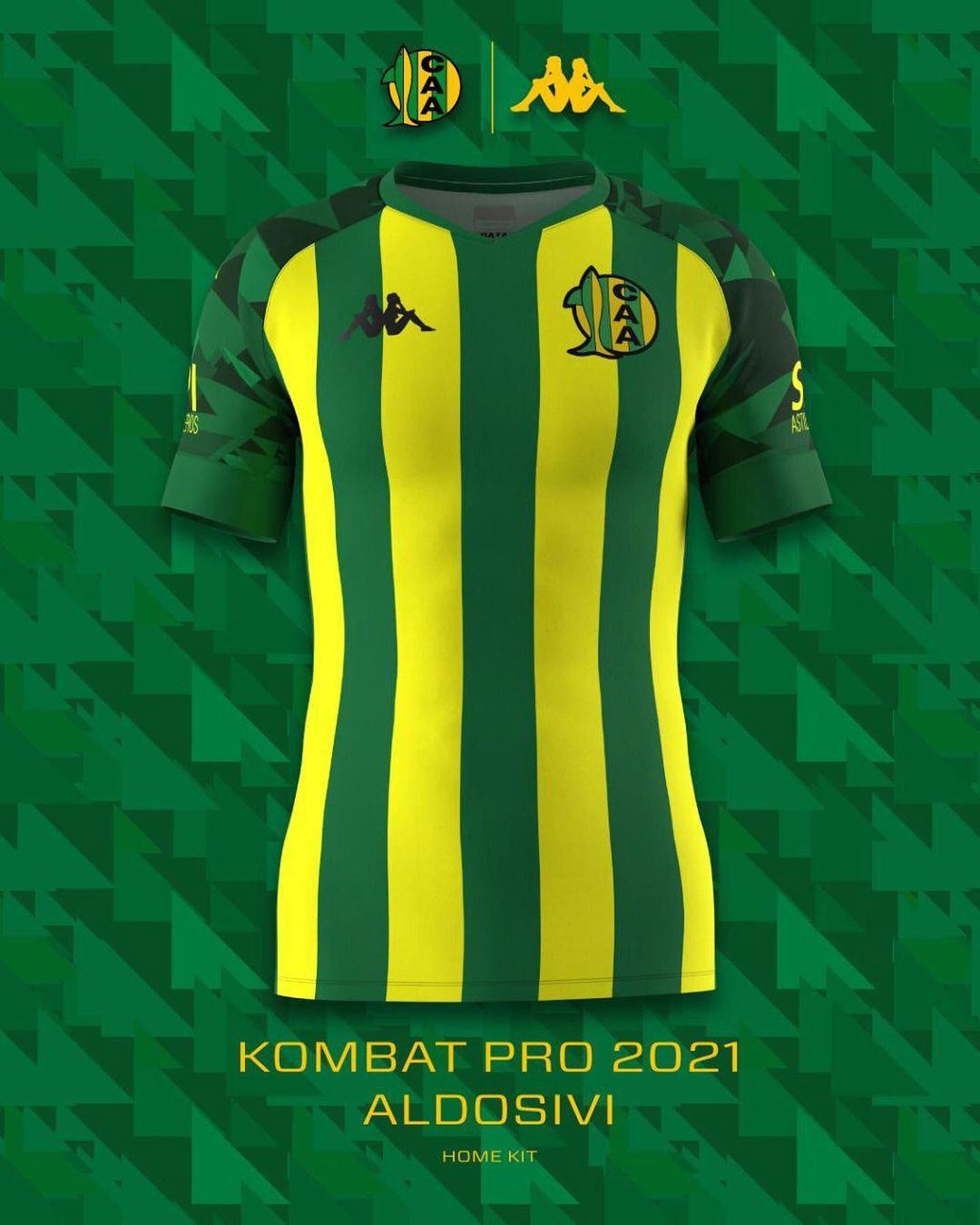 Camisas do CA Aldosivi 2021 Kappa 1