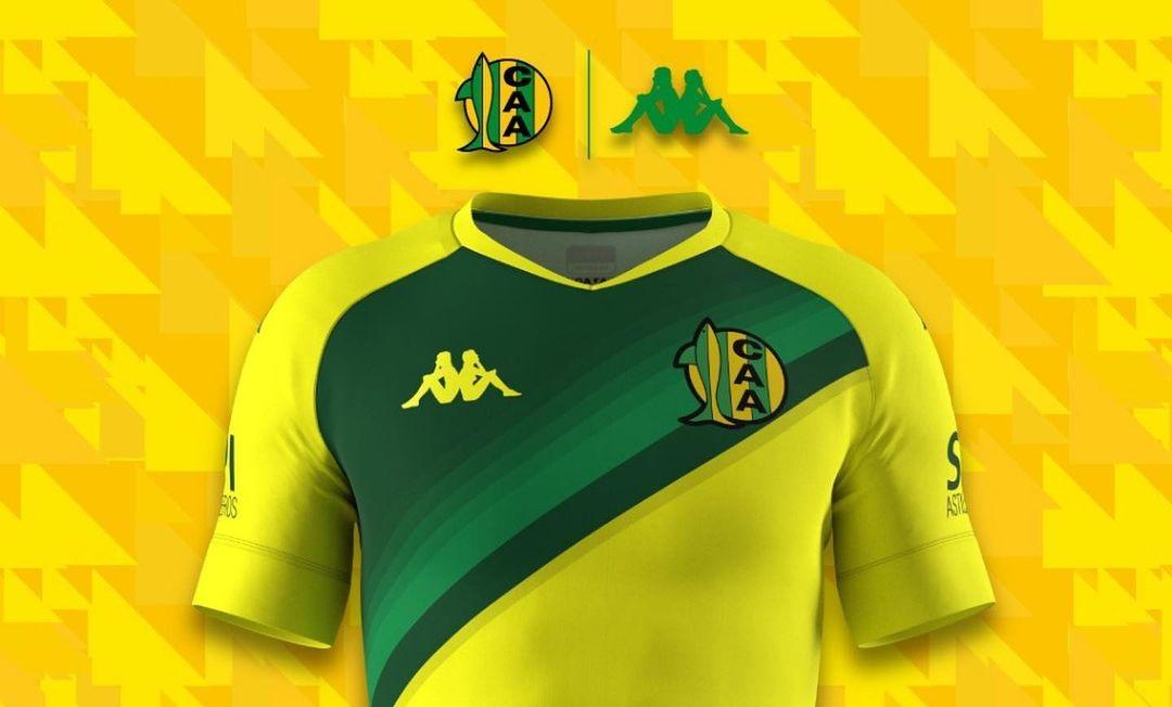 Camisas do CA Aldosivi 2021 Kappa
