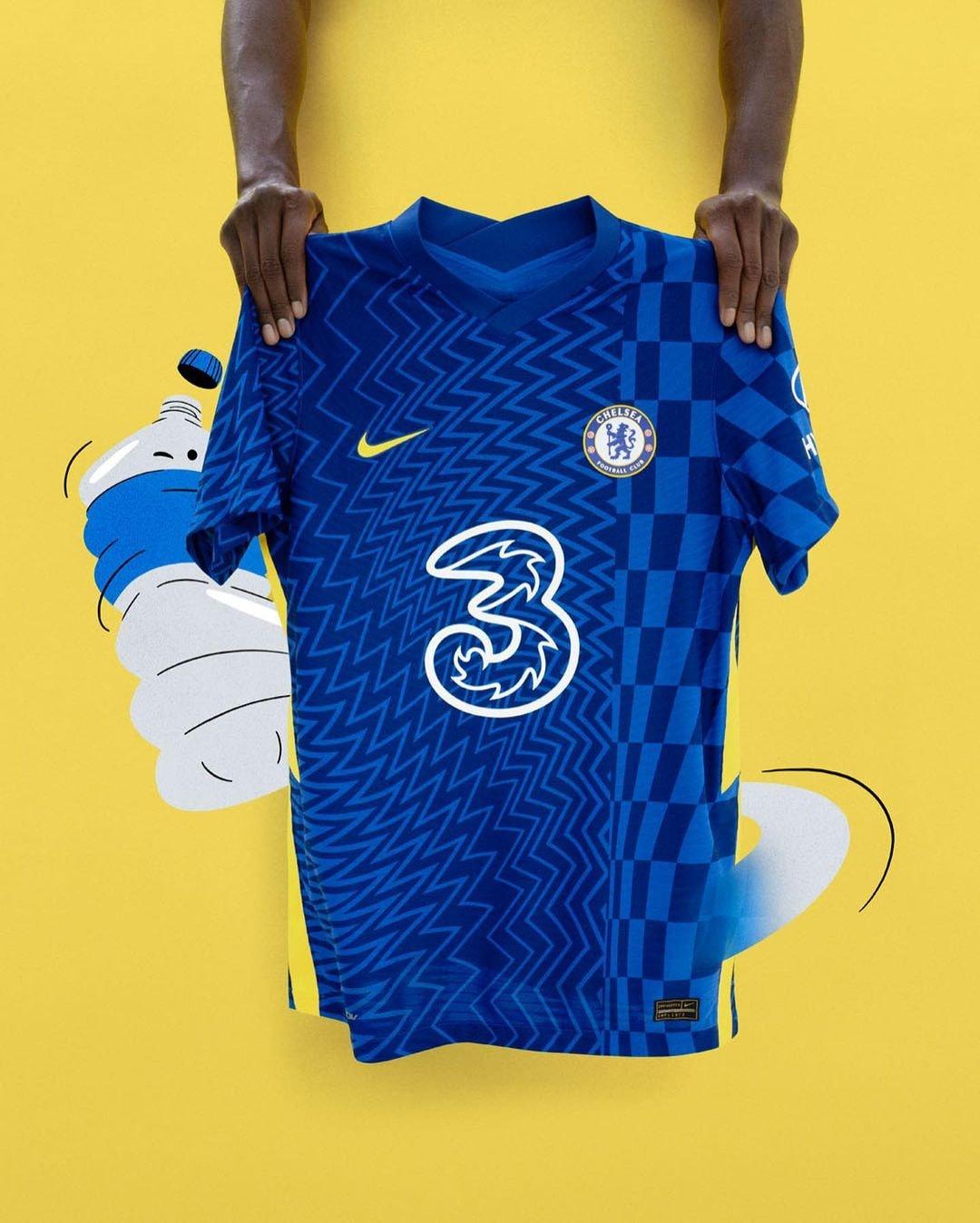 Camisas do Chelsea 2021-2022 Nike