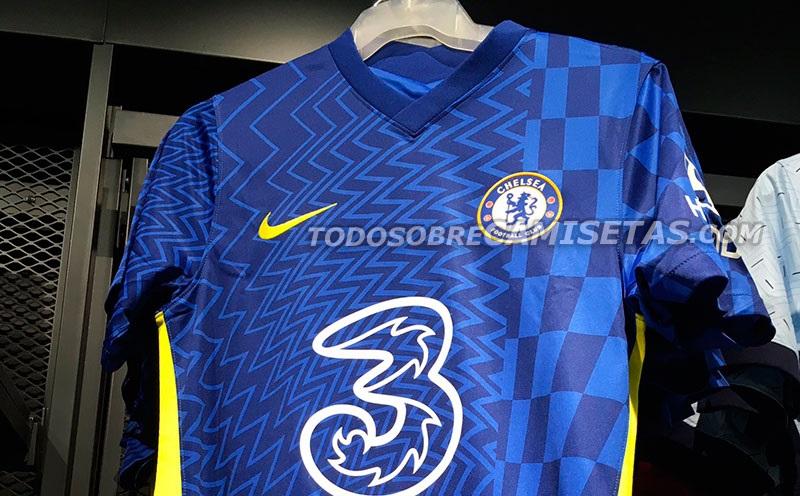 Camisas do Chelsea FC 2021-2022 Nike