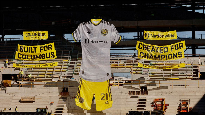 Camisas do Columbus Crew 2021 Adidas a