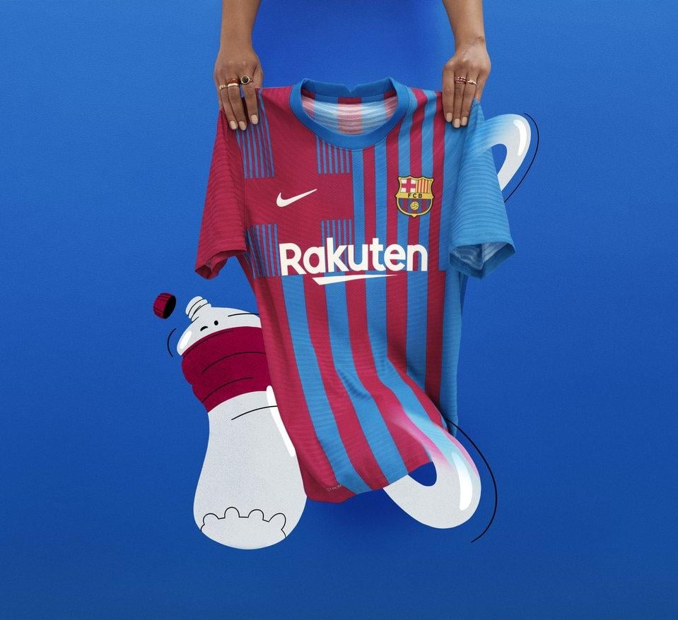 Camisas do FC Barcelona 2021-2022 Nike