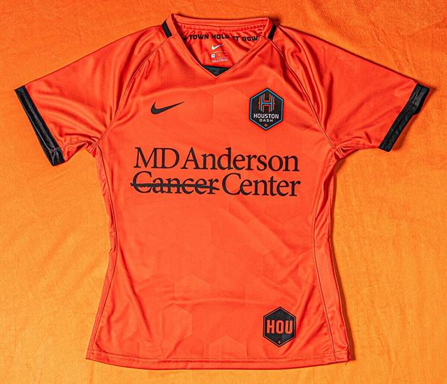 Camisas do Houston Dash 2021 Nike